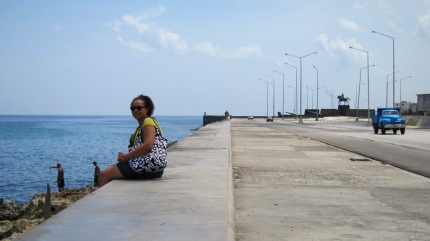 Me on the Malecon
