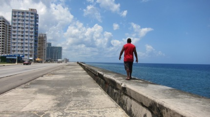 Shyam on the Malecon