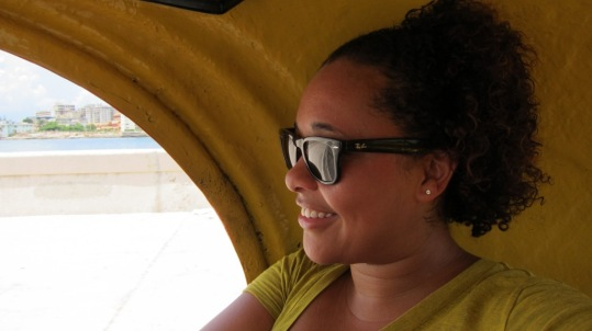 Me in the Cocotaxi